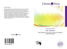 Buchcover von Ali Amini