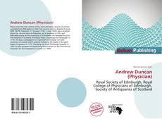 Bookcover of Andrew Duncan (Physician)