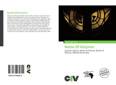 Portada del libro de Battle Of Golymin