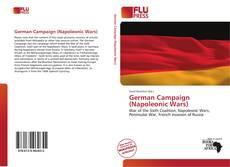 Copertina di German Campaign (Napoleonic Wars)