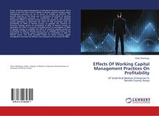 Bookcover of Effects Of Working Capital Management Practices On Profitability