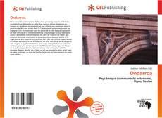 Bookcover of Ondarroa