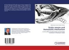 Couverture de Snake venom and Hemostatic mechanism