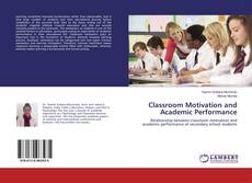 Buchcover von Classroom Motivation and Academic Performance