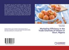 Bookcover of Marketing Efficiency in the Trade Channels of Onions in Osun, Nigeria