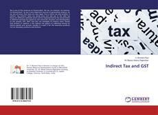 Capa do livro de Indirect Tax and GST