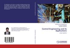 Bookcover of Control Engineering and its Applications