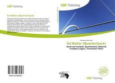 Ed Baker (Quarterback) kitap kapağı