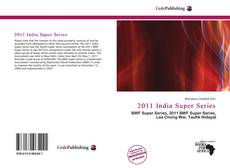 Buchcover von 2011 India Super Series