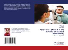 Bookcover of Assessment of IGF-1 in the Patients of Diabetic Retinopathy