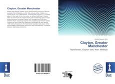 Portada del libro de Clayton, Greater Manchester