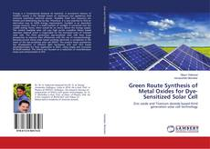 Green Route Synthesis of Metal Oxides for Dye-Sensitized Solar Cell的封面