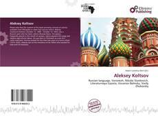 Bookcover of Aleksey Koltsov