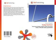 Bookcover of Cody Carlson