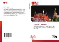 Capa do livro de Eduard Limonov