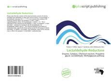 Couverture de Lactaldehyde Reductase