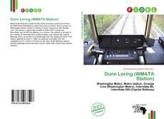 Portada del libro de Dunn Loring (WMATA Station)
