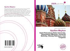 Bookcover of Apollon Maykov