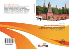 Bookcover of Dmitry Merezhkovsky
