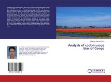 Bookcover of Analysis of codon usage bias of Congo