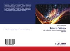 Buchcover von Kneser's Theorem