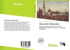Обложка Alexander Odoevsky