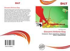 Couverture de Giovanni Antonio Giay