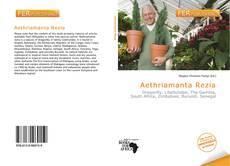 Bookcover of Aethriamanta Rezia