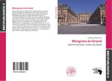 Wargnies-le-Grand的封面