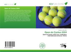 Buchcover von Open de Canton 2004