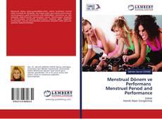 Обложка Menstrual Dönem ve Performans Menstruel Perıod and Performance