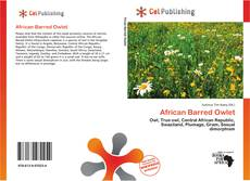 Bookcover of African Barred Owlet