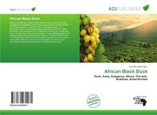 Bookcover of African Black Duck