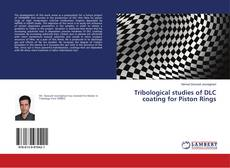 Обложка Tribological studies of DLC coating for Piston Rings