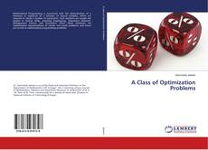 Bookcover of A Class of Optimization Problems