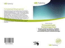 Buchcover von Formaldehyde Dehydrogenase