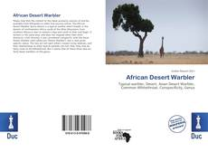 Bookcover of African Desert Warbler