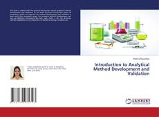 Bookcover of Introduction to Analytical Method Development and Validation