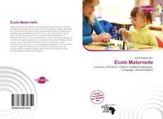 Capa do livro de École Maternelle