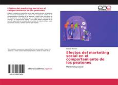 Capa do livro de Efectos del marketing social en el comportamiento de los peatones