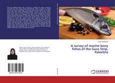 Portada del libro de A survey of marine bony fishes of the Gaza Strip, Palestine