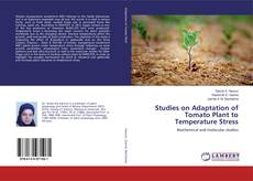 Buchcover von Studies on Adaptation of Tomato Plant to Temperature Stress