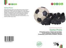 Portada del libro de Carlos Prono