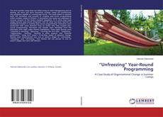 "Capa do livro de ""Unfreezing"" Year-Round Programming"