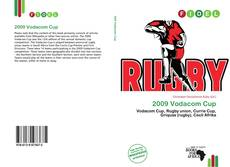 Bookcover of 2009 Vodacom Cup