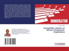 Buchcover von Xenophobic attacks on African Immigrants: Implications