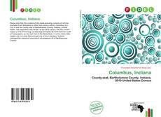 Portada del libro de Columbus, Indiana