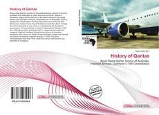 Bookcover of History of Qantas