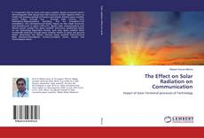 Buchcover von The Effect on Solar Radiation on Communication
