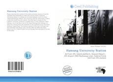 Capa do livro de Hansung University Station